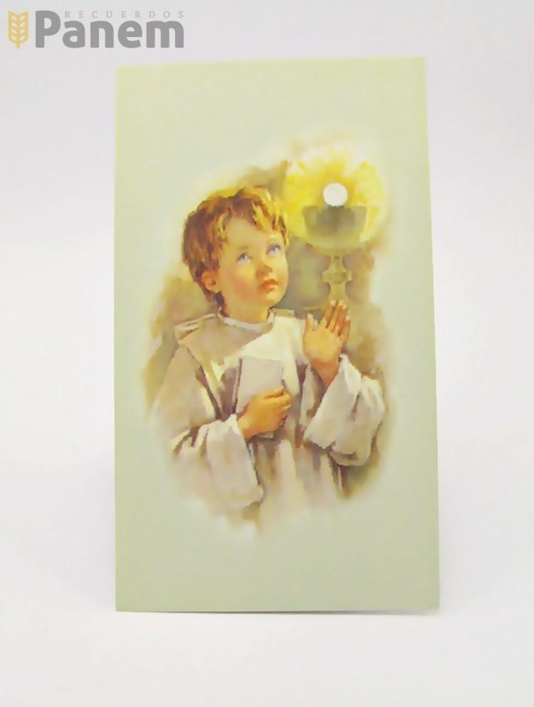 9f90b31f8e6 Santitos Niño Eucaristia (Valor por docena) - Recuerdos Panem