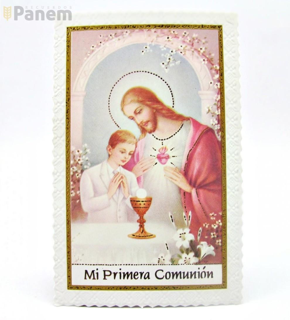7fd9db8de6e Santitos ribete Jesus niño (Valor por docena) - Recuerdos Panem