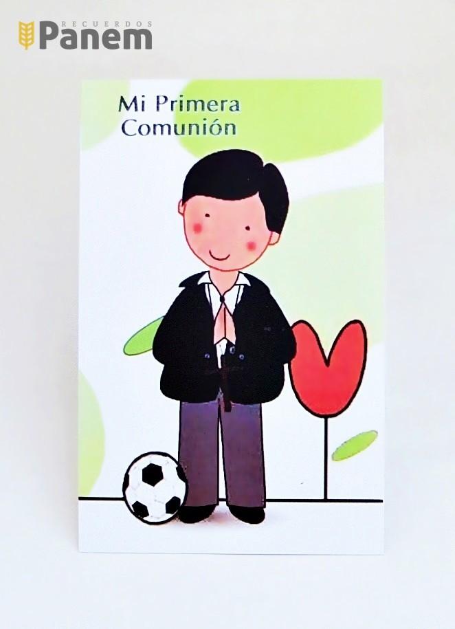 2a83f6264be Santitos - Niño futbol (Valor por docena) - Recuerdos Panem