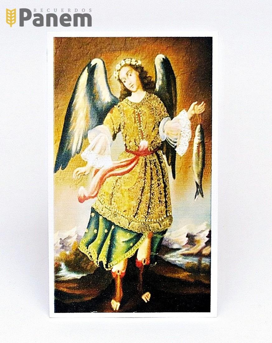 77d824b6e89 Santitos de – San Rafael Arcangel (Valor por docena) - Recuerdos Panem