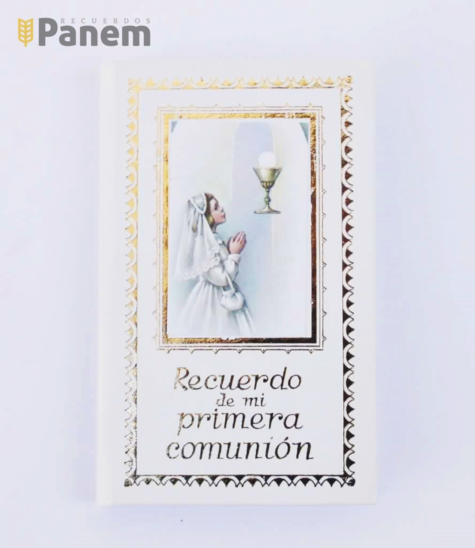 74f84fecb41 Libro Primera Comunion-Dios Conmigo-Niña - Recuerdos Panem