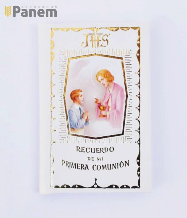 76fdf1df770 Libro Primera Comunion-Buen Jesus-Niño - Recuerdos Panem